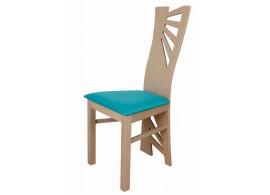 Moderní jídelní židle do kuchyně ZR91 - buk, olše, wenge