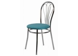 Jídelní židle Květa, kovová
