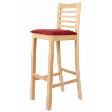 Barová židle Šárka, masiv buk