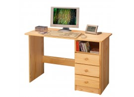 Psací PC stůl z masivu IA8844, masiv borovice