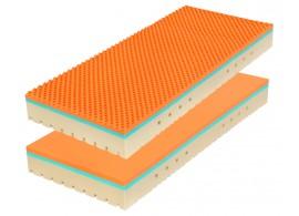 Matrace 1+1 zdarma Super FOX, 90x200 cm, líná bio pěna