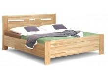 Manželská postel z masivu JOLANA, 160x200, 180x200, buk