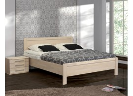 Masivní postel Romana senior, jádrový masiv buk