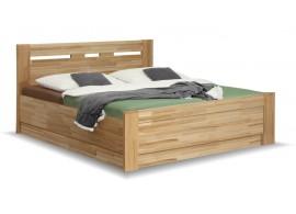 Manželská postel s úložným prostorem JOLANA, výklop 160x200, 180x200, buk
