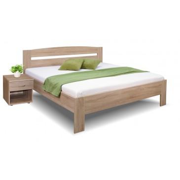 Manželská postel Maria 160x200, 180x200, lamino