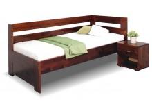 Zvýšená postel z masivu Valentin, 80x200, 90x200 cm - Pravá