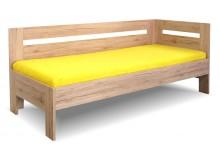 Zvýšená postel s bočnicí Erika, 90x200 cm - Pravá