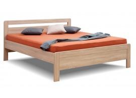 Manželská postel dvoulůžko KARLO - oblé, lamino, 160x200, 180x200 cm