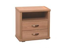 Noční stolek dvouzásuvkový L25