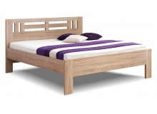 Manželská postel dvoulůžko Ella Moon, lamino, 160x200, 180x200 cm