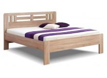 Manželská postel dvoulůžko Ella Moon-oblá, lamino, 160x200, 180x200 cm