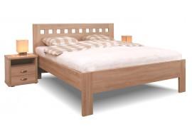 Manželská postel dvoulůžko Ella Mosaic, lamino, 160x200, 180x200 cm