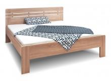 Manželská postel dvoulůžko Ella Lux-oblá, lamino, 160x200, 180x200 cm