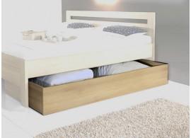 Úložný prostor pod postel celý, masiv buk cink jádrový