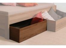 Úložný prostor pod postel 1/2, masiv buk cink jádrový