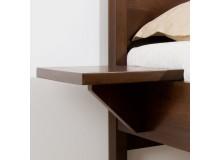 Noční stolek - závěsný GB21, masiv buk