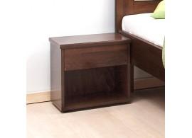 Noční stolek se zásuvkou Široký, masiv buk cink jádrový