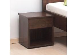 Noční stolek se zásuvkou Úzký, masiv buk cink jádrový