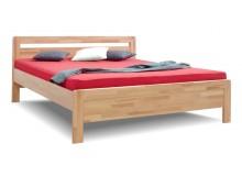 Zvýšená postel z masivu Karlo-oblé, masiv buk cink
