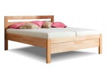 Zvýšená postel z masivu Karlo, masiv buk cink