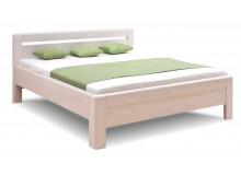 Zvýšená postel z masivu Adriana, masiv buk cink