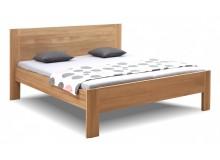 Zvýšená postel z masivu Ella Family, masiv dub cink