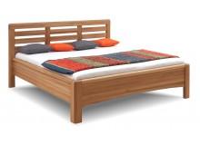 Zvýšená postel z masivu Viola, masiv dub cink