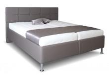 Čalouněná postel s úložným prostorem Judita vario, čelní výklop