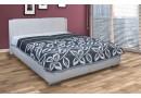 Čalouněná postel s úložným prostorem Sara vario, čelní výklop