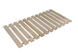 Dřevěný zesílený laťkový rošt XXL, 150kg, 90x200 cm