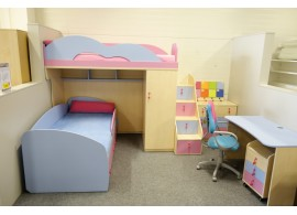 Dětská patrová postel elko MIA-001