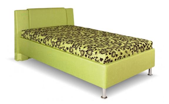 da67052bbfb8 Čalouněná postel s úložným prostorem Monika