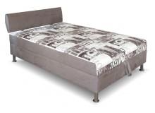 Čalouněná postel s úložným prostorem Tamara, 140x200 cm, čelní výklop
