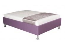 Čalouněná postel s úložným prostorem Leona vario, 110x200 cm, čelní výklop