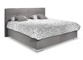 Čalouněná postel s úložným prostorem FACILE