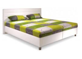 Čalouněná postel s úložným prostorem DESIGN