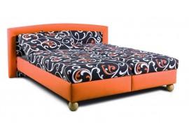 Čalouněná postel s úložným prostorem MAXRELAX
