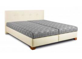 Čalouněná postel s úložným prostorem DONA