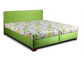 Čalouněná postel s úložným prostorem DOLLY