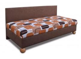 Zvýšená čalouněná postel s úložným prostorem BOB
