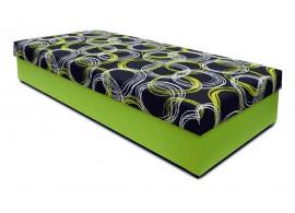 Čalouněná postel s úložným prostorem KLASIK