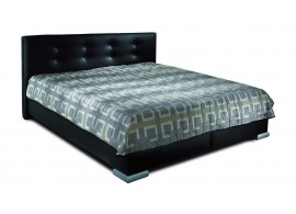 Čalouněná postel s úložným prostorem CORA