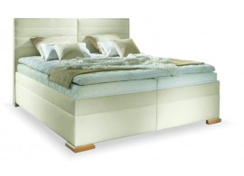 Americká postel boxspring s úložným prostorem LUCIA