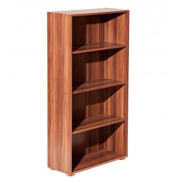Regál, policová knihovna IA60330, lamino ořech