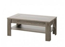 Moderní konferenční stolek KLÁRA 110x60, dub sonoma tmavý
