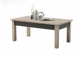 Konferenční stolek Kompala,dub san remo-lava, 110x60