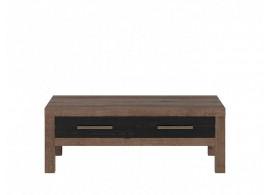 Konferenční stolek Balin,dub monastery-dub černý, 110x60