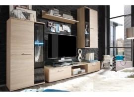 Moderní obývací stěna Salesa, dub sonoma, 240x175