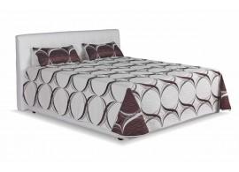 Čalouněná postel s úložným prostorem Monaco, 180x200, bílá