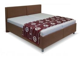 Zýšená čalouněná postel s úložným prostorem Martina